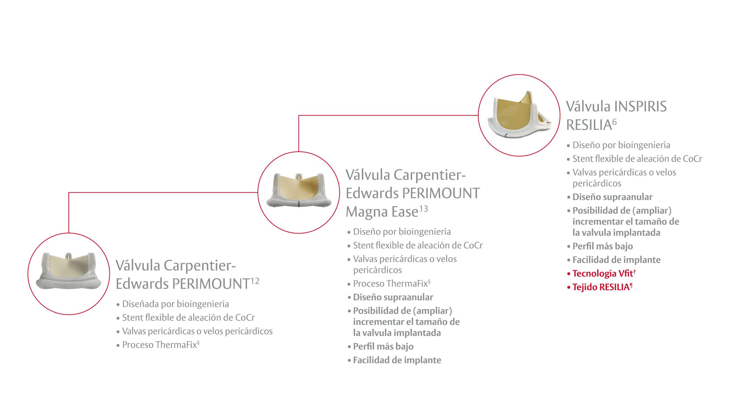 productos valvulares Carpentier-Edwards PERIMOUNT